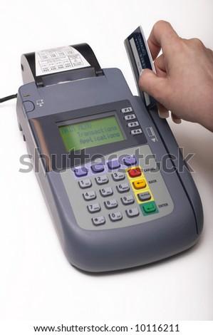 id swiping machine