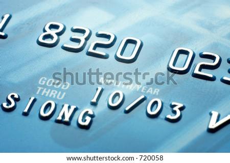 Credit cards Closeup 2