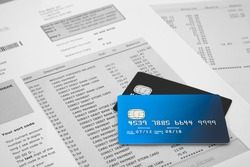 Credit Cards on Bank Statements
