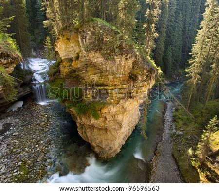 Creek in Johnston Canyon, Banff, Alberta, Canada