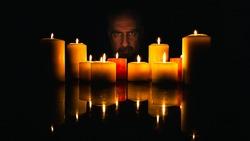 Creepy Candle Light Male Model