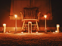 Creepy ritual by candlelight (clean version)