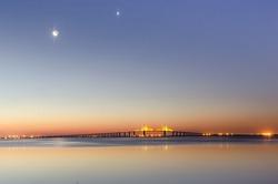 Crescent Dawn at Ft Desoto Park Fl