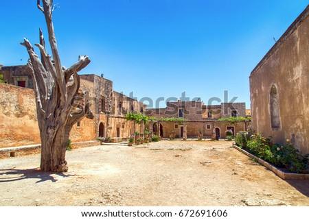 Crete arkadi monastery #672691606