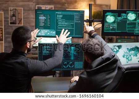 Crew of cyber terrorist talking about destroying gouvernements all over the world.