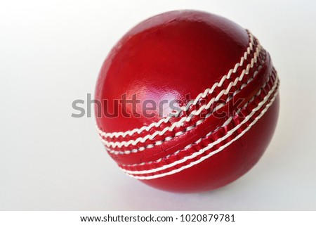 Cricket ball isolated #1020879781