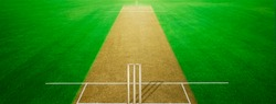 CRICKET GROUND WITH PLAYING PITCH  bat and ball cricket games backgrounds asia india