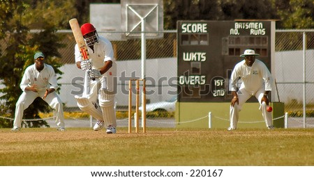 Cricket Match in Barbados, West indies.