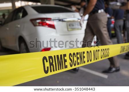 crime scene vehicle