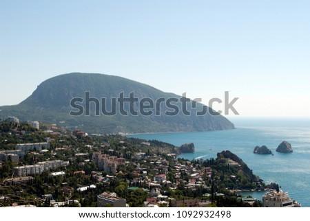 Crimea. Cape Ayu-Dag