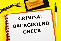 Criminal background check. Criminal record — the legal status of a citizen who was found guilty by the court of committing a crime, and to whom the punishment was applied.