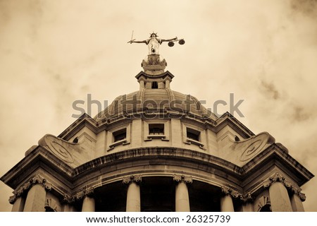 Criminal Court Building, London, UK