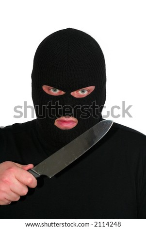 Criminal series 2 - the robber with a knife