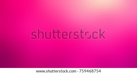 Crimson color large format banner. Valentines day empty background. Pink blurred texture. Colorful defocused image. Fashionable abstract illustration.