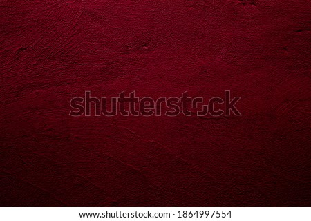 Crimson colored wall background with textures of different shades of red Foto stock ©