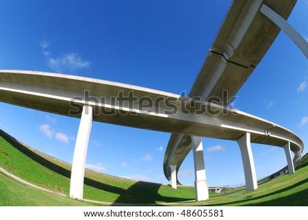 Cris crossing South Florida Expressways