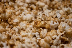 Crispetas de caramelo para cine