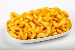 Crispy and crunchy salty ABCD fryums snack food