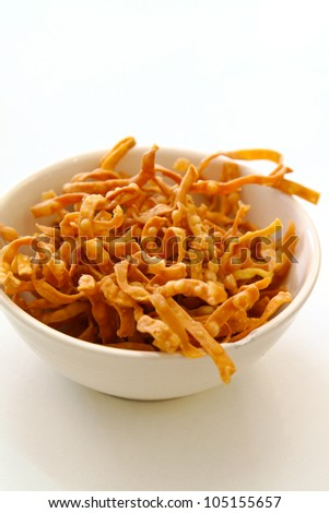 crispy noodles for topping