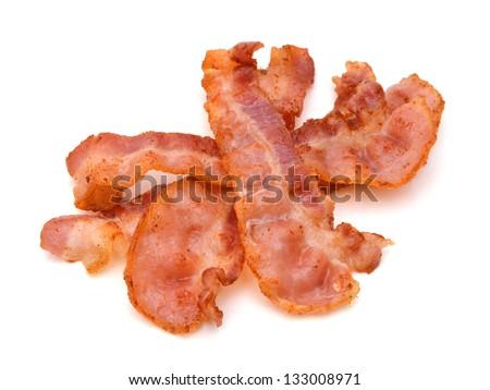 Crispy strips of bacon