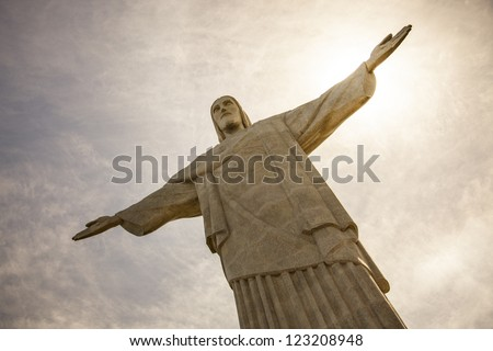 Cristo redentor - stock photo