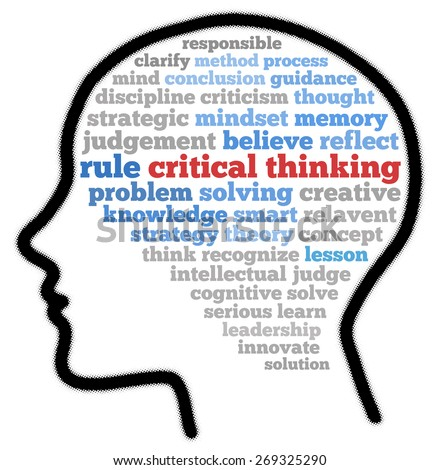concept of critical thinking originate Critical thinking is the process of independently analyzing, synthesizing, and evaluating information as a guide to behavior and beliefs the american philosophical association has defined critical thinking as the process of purposeful, self-regulatory judgment the process gives reasoned .