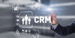 CRM Customer Relationship Management. Customer orientation concept
