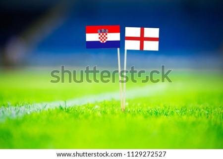 Croatia - England, Semifinal. 11. July, Football  #1129272527