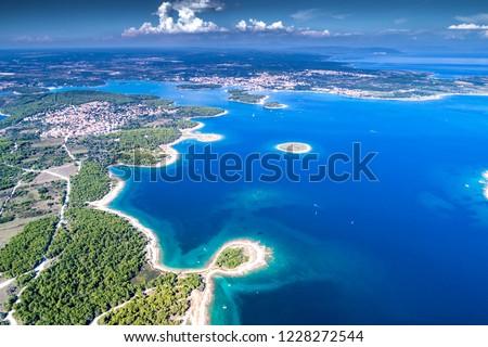 Croatia, Istria, aerial view of Cape Kamenjak #1228272544