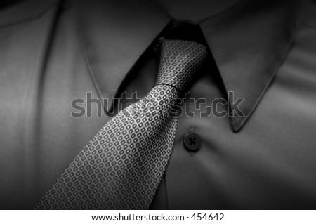 crooked tie
