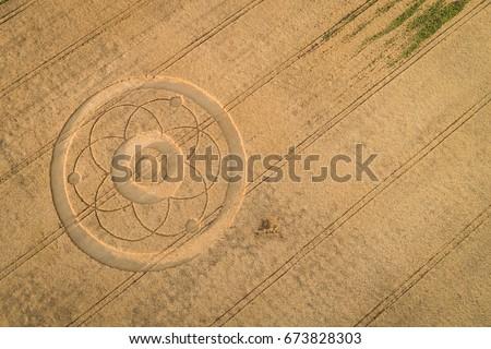 Crop circle #673828303