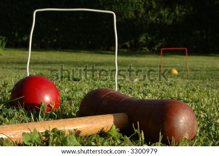 croquet at the park