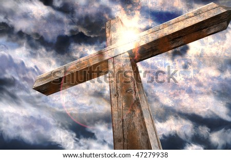 Cross and the light
