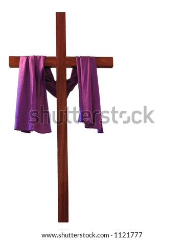 What does the drape on the cross mean  qaanswerscom