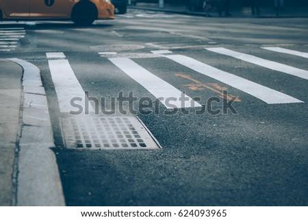crosswalk in new york