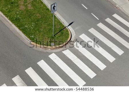 Crosswalk, Zebra Crossing for background