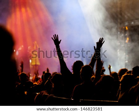 Crowd at concert #146823581