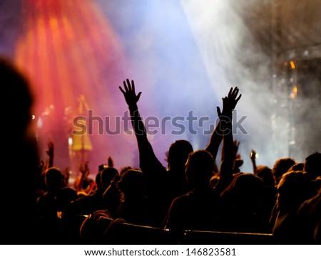 Crowd at concert #146823581