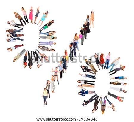 Crowd Symbol Percent