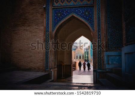 Crowded Passageway in Samarkand, Uzbekistan Observatory #1542819710