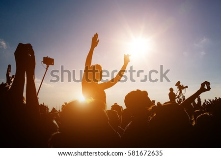 Shutterstock Crowds Enjoying Themselves At Outdoor Summer Music Festival