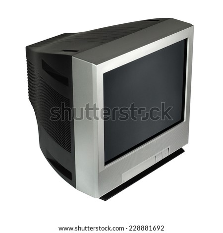 crt tv   old television