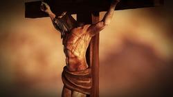 Crucifixion on the Golgotha of Jesus