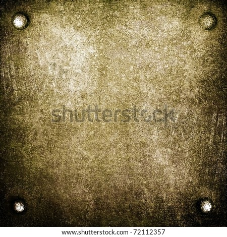 crude metal background