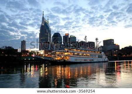 Cruise boat on the Cumberland