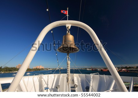 Cruise's bell,Bahamas.