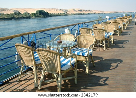 Cruise ship, Egypt, Nile river