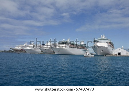 Cruise ship fleet, Bahamas
