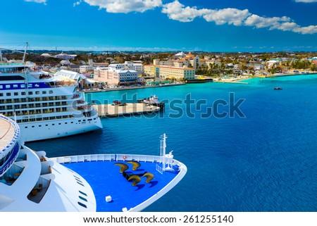Cruise Ships in Nassau Bahamas port