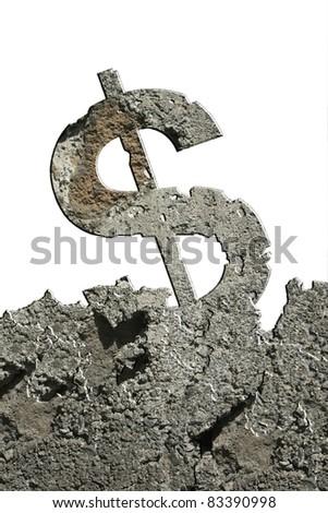 crumbling dollar